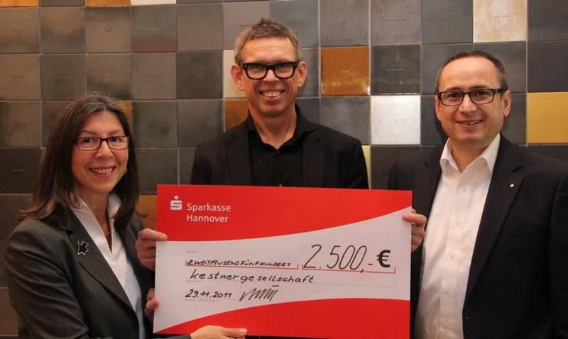 Mairi Kroll (Geschäftsführerin), Veit Görner (Direktor) und Michael J. Schöpf