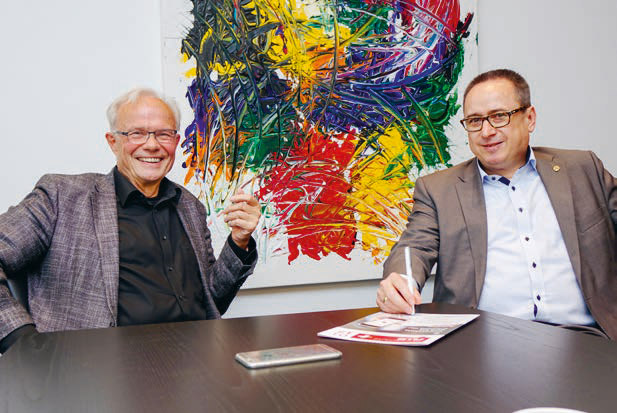 Walter Richter und Michael Schöpf