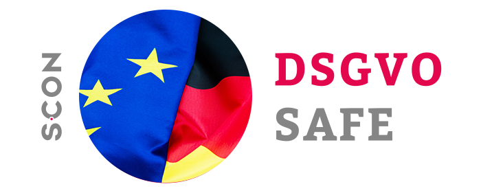 S-CON: Professional data protection in Germany at EU-GDPR (DSGVO)